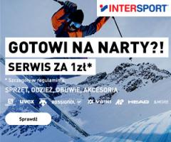 Intersport: serwis za 1zł