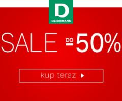 Sale do 50% w Deichmann