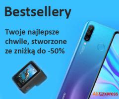 Bestsellery Aliexpress -50%!