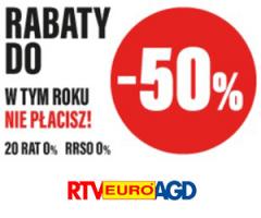 Megaokazja w RTV EURO AGD!