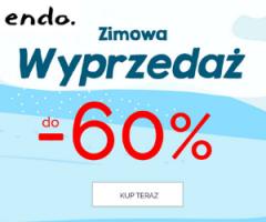 Endo: wyprzedaż do -60%