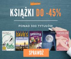 Znak: książki do -45%!