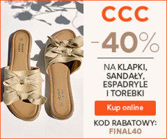 Klapki i sandały -40%!