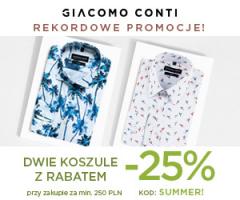 Koszule -25% w Giacomo Conti