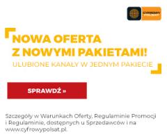 Cyfrowy Polsat od 30zł miesięcznie!