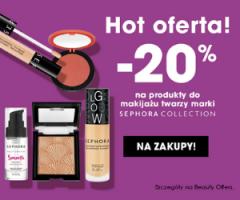 Sephora -20% na kosmetyki!
