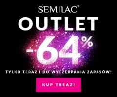 Semilac Outlet do -64%!