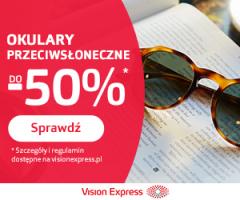 Okulary przeciwsłoneczne -50%