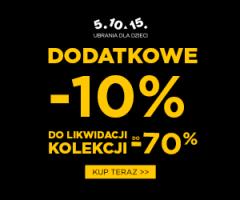 5.10.15: dodatkowe -10%!