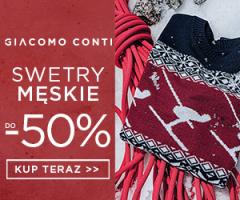 Swetry do 50% taniej