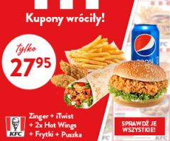 Nowe kupony w KFC