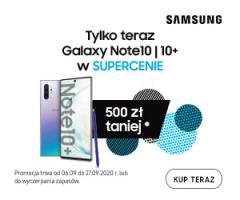 Samsung Galaxy Note 10 w super cenie