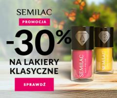 Semilac - promocja na lakiery klasyczne