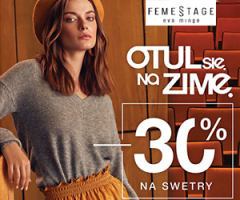 -30% na swetry!