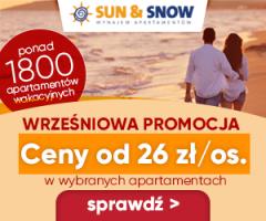 Wrześniowa Promocja na Sun&Snow!
