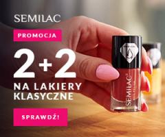 Semilac - lakiery hybrydowe w promocji 2+2