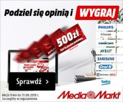 Konkurs opinii Media Markt!