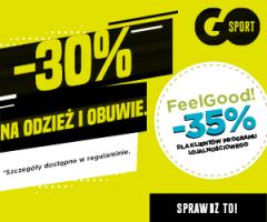 Promocja -30% w Go Sport