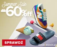 Letnie promocje -60% w Streetstyle24