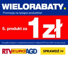 Wielorabaty w RTV Euro AGD