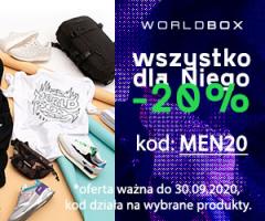 Worldbox - 20% na Dzień Chłopaka