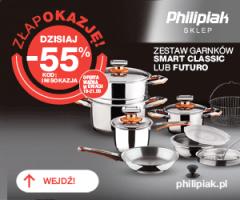 Philipiak - zestaw garnków -55%