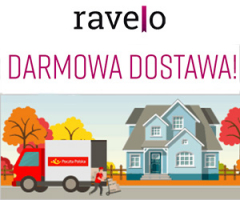 Ravelo: darmowa dostawa