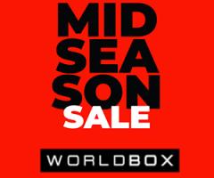 30% rabatu w Worldbox