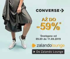 Trampki Converse do -59% taniej!