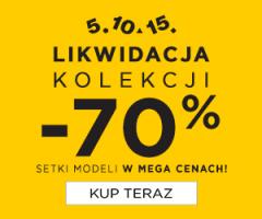 Likwidacja kolekcji -70%
