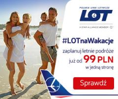 #LOT na wakacje!