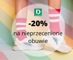 Buty -20% w Deichmann