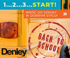 Moda szkolna w Denley!