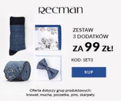 Dodatki w Recman za 99 zł!