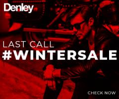 Zimowe sale w Denley!