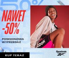 Promocja do -50% w Reebok