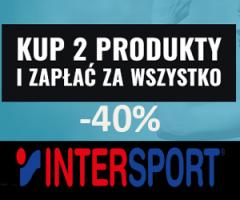 Markowe produkty sportowe -40%!