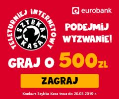Graj o 500 zł z eurobankiem!