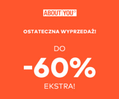About You do -60% ekstra!