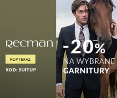 Rabat -20% w Recman