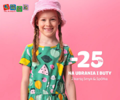 Smyk: -25% na Dzień Dziecka