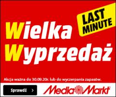 MediaMarkt - wielka wrześniowa wyprzedaż do -70%