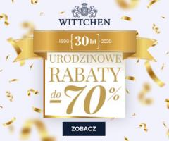 Urodzinowe rabaty w Wittchen -70%
