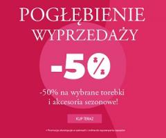 -50% na torebki i akcesoria w Tous