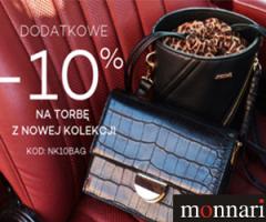 -10% zniżki na torby i torebki!