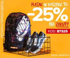 Promocje -25% w Streetstyle24