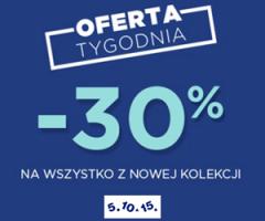Rabat -30% na nową kolekcję!