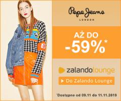 Pepe Jeans do -59%!