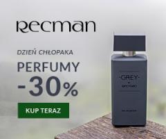 Recman: perfumy -30%