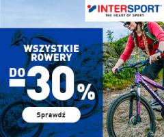 Wyprzedaż rowerów w InterSport